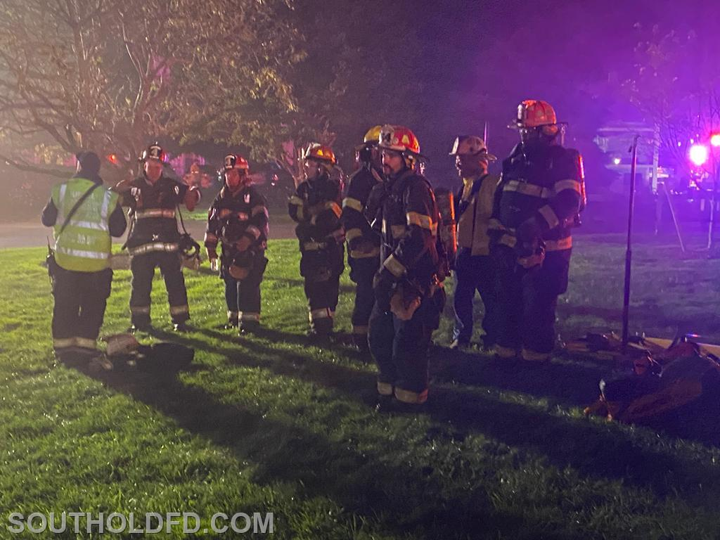 Greenport FD standing by and ready to go.